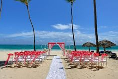 Grand Punta Cana wedding in the sand #Pin2Win [Promotional Pin]