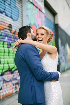 A Bright, Mexican-Inspired Wedding at Greenpoint Loft in Brooklyn, New York