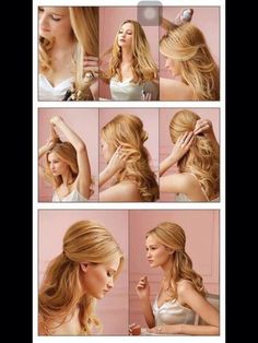 Simple And Elegant! Half Updo Tutorial :)