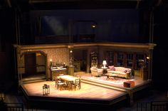 scenic design for the theater ---Psalms of a Questionable Nature....Oregon Shakespeare Festival