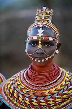 Maasai maiden