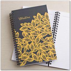 A beautiful Tiny Prints personalized notebook design by @Jò in Wonderland Cho / Oh Joy!.