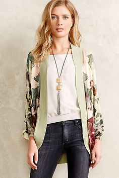 Well if I'm going to winter in FL, I might need this: Stonefruit Cardigan #anthropologie