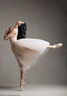 Xao Nan Yu National Ballet of Canada Photo © Karolina Kuras < ballet pose