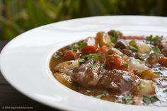 Irish Lamb Stew - Free Paleo Recipes and More. Get the recipe at BigChinKitchen.com
