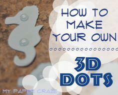 Hoe je je eigen 3D Dots Maak