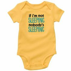 """if I'm not sleeping, nobody's sleeping"" #carters"