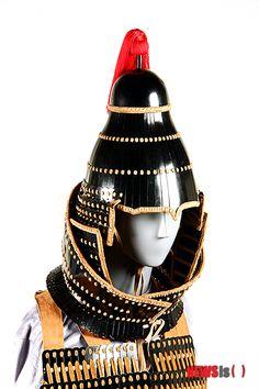삼국시대 신라찰갑 Three Kingdoms Period  Silla Scale armor helmet