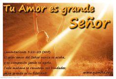 Lamentaciones3:22-23