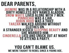 """""""Dear parents...""""                                                                                                                                                                                                           ...see, it's not my fault."""