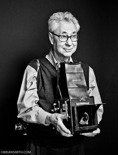 Photography Legend Elliott Erwitt photographed by Brian Smith for 'Art  Soul'