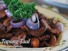 Panlasang Pinoy Meaty Recipes - Collection of Filipino recipes that specializes on meat, poultry, fish and seafood. Meat Recipes, Fish Recipes, Asian Recipes, Filipino Dishes, Filipino Recipes, Filipino Food, Pinoy Food, Pork Dishes, Savoury Dishes
