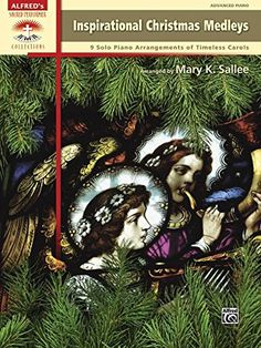 Inspirational Christmas Medleys: 9 Solo Piano Arrangements of Timeless Carols (Sacred Performer Collections):   These beautiful medleys are arranged to combine similar textual themes or moods, and they can be used in a variety of settings. Approximate performance times are included to assist planning. Titles: The Holly and the Ivy / The Snow Lay on the Ground * Joseph Dearest, Joseph Mine / Still, Still, Still / Rocking Carol * Manger Medley (Cradle Song / Away in a Manger / Lullaby Je...