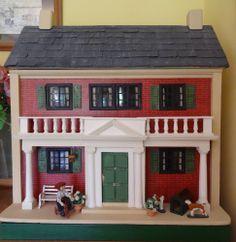 Lines Bros. Ltd. Dolls House circa. mid 1920's.  .....Rick Maccione-Dollhouse Builder www.dollhousemansions.com