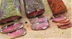 Chleba naszego: Suszone wędliny, trzy schaby Kielbasa, Hot Dog, Sausage, Steak, Homemade, Ethnic Recipes, Food, Home Made, Diy Crafts