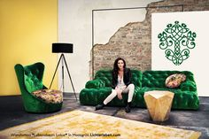 Find out all of the information about the BRETZ product: modular sofa / Chesterfield / fabric / COCOA ISLAND. Yoga Studio Design, Chesterfield Lounge, Sectional Sofa, Cocoa, Feng Shui, Island Chairs, Look Retro, Big Sofas, Modular Sofa