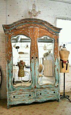 Industriel 7 tiroirs style Vintage Funky Quirky armoire meuble de rangement originalité