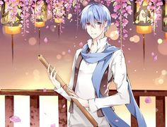 Creds @ 壬生 on Pixiv   KAITO Vocaloid Kaito, Kaito Shion, Some Image, Image Boards, Anime, Kawaii, Drawings, Artist, Tags