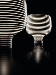 """behive"" white LED table lamp   lighting . Beleuchtung . luminaires   Design: Foscarini  "