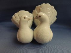 Vintage Lladro Dove Couple #1169 Retired from Totty's Antiques and Collectibles Exclusively on Ruby Lane.