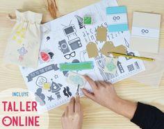 Haz tus sellos es un KIT DIY con todo lo necesario para aprender a carvar sellos, regalo original y creativo al mejor precio en www.idoproyect.com tienda craft