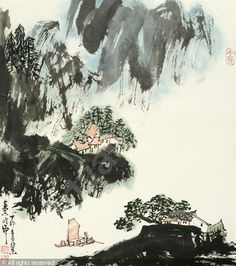 """Résultat de recherche d'images pour """"Qin Lingyun"""" Art, Watercolor, Painting, Image"""