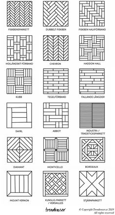 Doodle Art Designs, Doodle Patterns, Floor Patterns, Zentangle Patterns, Shower Tile Patterns, Wall Paint Patterns, Brick Patterns, Window Grill Design Modern, Grill Door Design