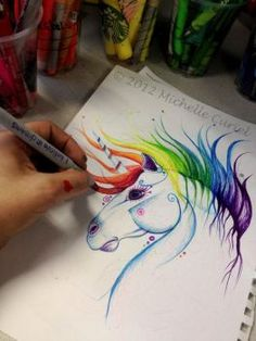 I believe in unicorns by artisticalshell