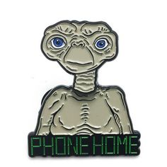 Phone Home Enamel Pin
