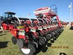 16 row White 880 corn planter