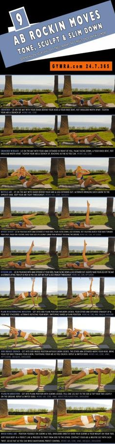 Abs Workout | Posted By: CustomWeightLossProgram.com