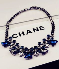 Chain length: 43cm + 5cm (extension) = 48cm   Enjoy worldwide FREE SHIPPING on all jewelry items!