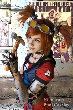 I say MECHRO, you say MANCER! MECHRO! by FallenAlice on deviantART (Borderlands cosplay)