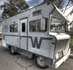 Winnebago Brave (or Indian) RV from the mid-1970's - in Sherman Heights, San Diego, CA