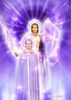 Zadkyel# Lady ametista#purple light