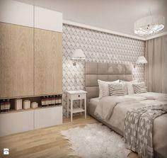 MIESZKANIE W ŁOMIANKACH - Sypialnia, styl nowoczesny - zdjęcie od MKdesigner