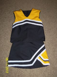 Made to Order Cheerleader Costume Black and by loveineverystitch, $25.00