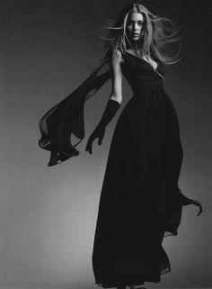 Chiffon flow ~ETS #black