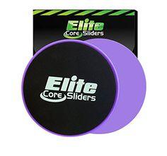Core Exercise Sliders - 2 Dual Sided Gliding Discs for Carpet and Hardwood Floors - Purple Elite sportz equipment http://www.amazon.com/dp/B0171GRX8C/ref=cm_sw_r_pi_dp_cucaxb0W6XA3B