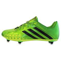 5d02b06e9 adidas Predator Absolado LZ SG - Green/Black/Electricity. Rugby  EquipmentBase Layer ClothingRugby ShortsAdidas PredatorCleatsFootball ...