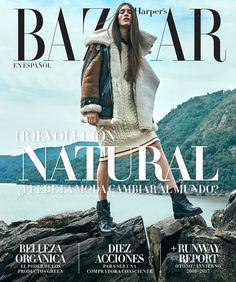 Марин Делиу на обложке Harper's Bazaar (Интернет-журнал ETODAY)