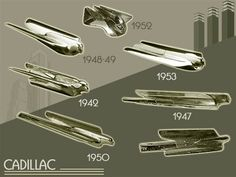 Just a car guy : Hood ornament identification guide - Cadillac