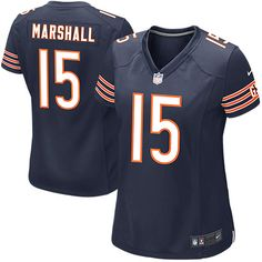 Brandon Marshall Chicago Bears Nike Women's Game Jersey – Navy Blue - $52.24