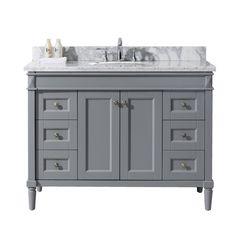 Custom 48 Bathroom Vanity With Top Decorating Ideas
