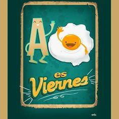 ¡A #Huevo es #Viernes! #Citas #Frases @Candidman