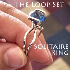 NEW Loop Set Solitaire Ring Tutorial Available for $0.99!