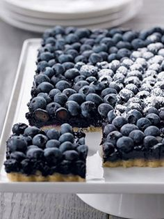 Yum!! Antioxidant-packed #blueberry tart! #recipes