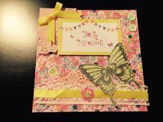Handmade card Bellisima collection