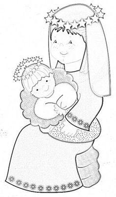 San José:            Virgen María y Niño Jesús:          Melchor:         Gaspar:       Baltasar:         Oveja:           Buey:    ...