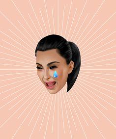 Kim Kardashian's Brand-New Kimoji Are Here! #refinery29